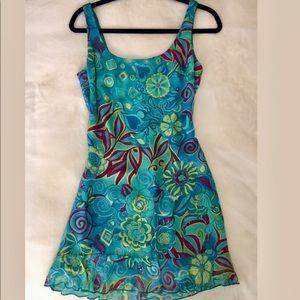 Blue Dress (short mini dress)